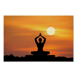 Yoga - meditation poster