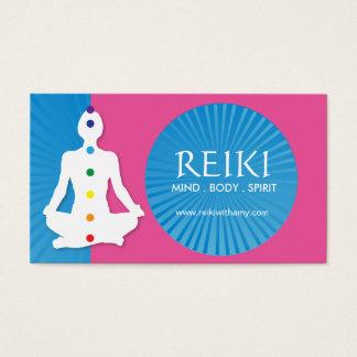 Yoga och Reiki visitkortar Visitkort