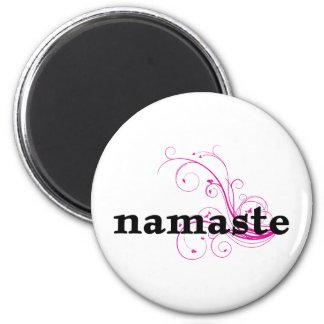 Yoga Om Magnet Rund 5.7 Cm