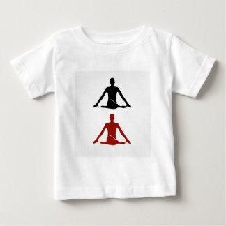 Yoga poserar koansiktegomukhasana tee shirt