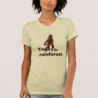 Yoga utomhus med naturen tshirts