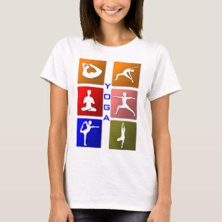 Yogakvinna skjorta tee shirt