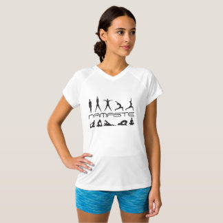 YogaNamaste arbete ut Tshirts