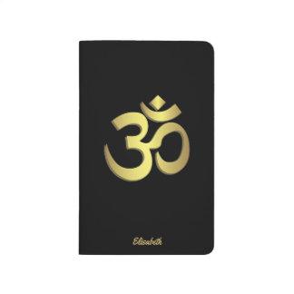 Yogasymbol för Om (Aum) Namaste Anteckningsbok