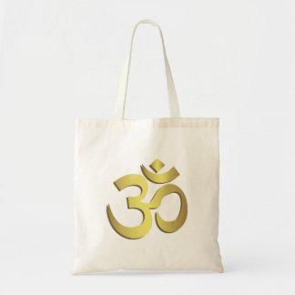 Yogasymbol för Om (Aum) Namaste Tygkasse