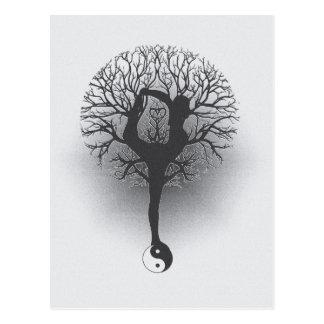 Yogaträd Vykort
