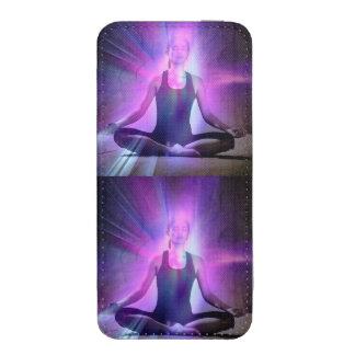 Yogi yoga, chakra, aura, chakras, energi, färger, fodral ficka