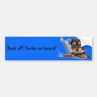 Yorkie bildekal