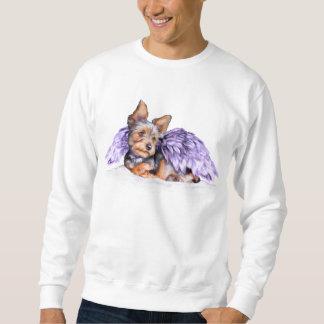 Yorkie för Yorkshire Terrier ängel Lång Ärmad Tröja