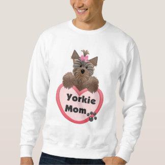 Yorkie mamma lång ärmad tröja