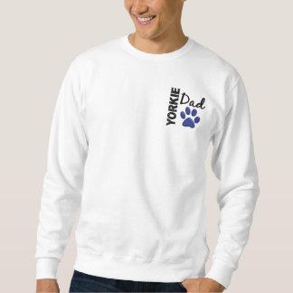 Yorkie pappa 2 lång ärmad tröja