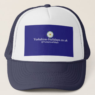 Yorkshire-Helgdagar lastbilsförarelock Truckerkeps