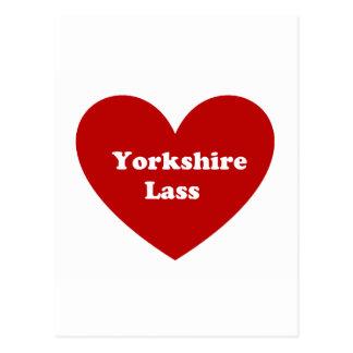 Yorkshire jänta vykort