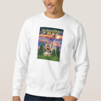 Yorkshire Terrier #17 Långärmad Tröja