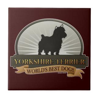 Yorkshire Terrier Kakelplatta