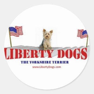 Yorkshire Terrier Runt Klistermärke