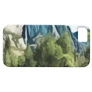 Yosemite dalmålning iPhone 5 Case-Mate fodral