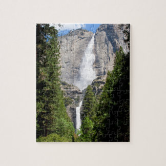 Yosemite Falls i maj Pussel