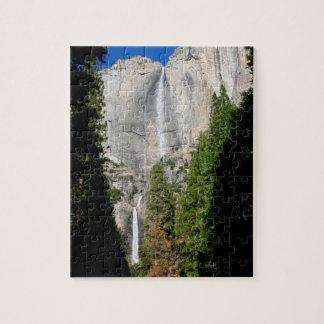 Yosemite Falls i November Pussel
