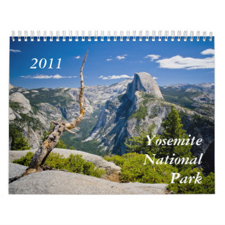 Yosemite nationalpark 2011 kalender