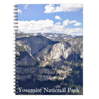 Yosemite nationalpark (B) Anteckningsbok