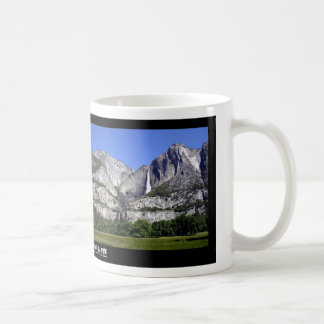 Yosemite nationalpark kaffemugg