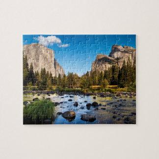 Yosemite nationalpark, Kalifornien Pussel