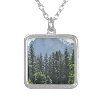Yosemite nationalpark silverpläterat halsband