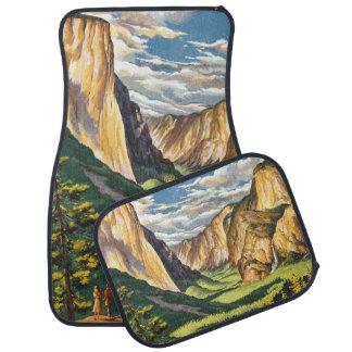 Yosemite reser konst bilmatta