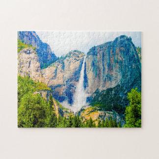 Yosemite vattenfall Nevada. Pussel