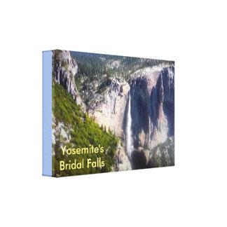 Yosemites brud- nedgångar canvastryck