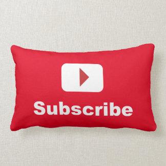 youtube kanaliserar prenumererar lumbarkudde