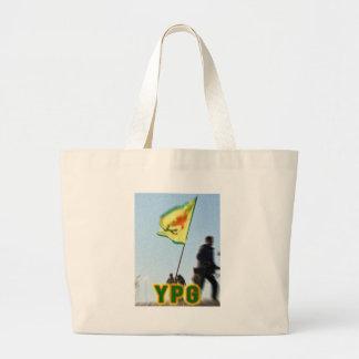 YPG - Kurdish frihetskämpar av Kobani v2 Jumbo Tygkasse