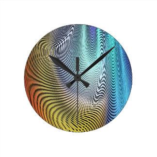 Yr illusion rund klocka