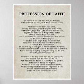 Yrke av tro poster