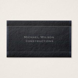 Yrkesmässig attraktiv elegantsvart visitkort