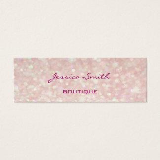 Yrkesmässig elegant modern lyxig glitterbokeh litet visitkort