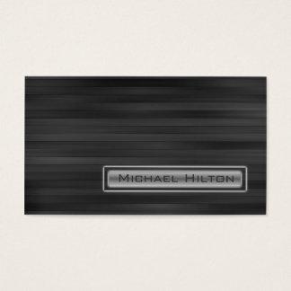 Yrkesmässig elegant samtida grå färgstruktur visitkort