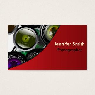 Yrkesmässig fotograf visitkort