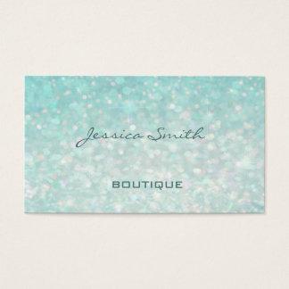 Yrkesmässig glamorös modern elegantslättbokeh visitkort