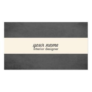 Yrkesmässig inre märkes- visitkort