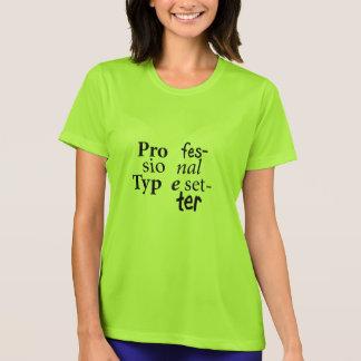Yrkesmässig sättareT-tröja (svart text) T Shirts