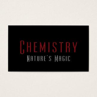 Yrkesmässiga kemistkemivisitkortar visitkort