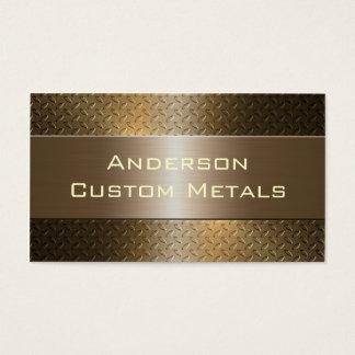 Yrkesmässigt automatiskt industriellt metalliskt visitkort