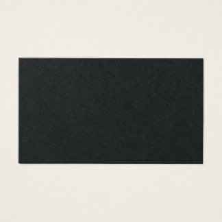 Yrkesmässigt elegantt högvärdigt svart robustt visitkort