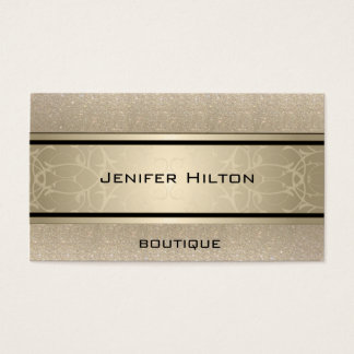 Yrkesmässigt elegantt modernt lyxigt glittery visitkort