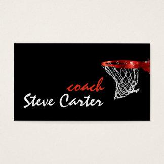 Yrkesmässigt kort för baskettränarespelaresport