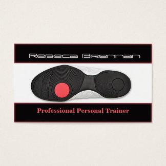 Yrkesmässigt personligt instruktör-/konditionkort visitkort