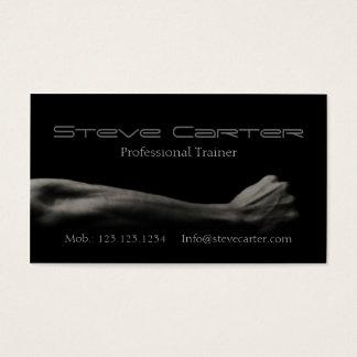 yrkesmässigt personligt visitkort