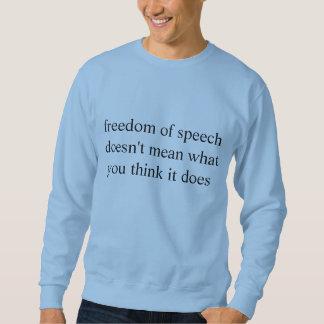 yttrandefrihet långärmad tröja